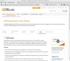 Microsoft Lync Online vs Webex Review